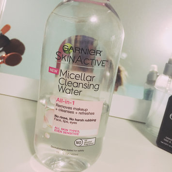 Garnier Skinactive Micellar Cleansing Water All-in-1 Makeup Remover & Cleanser 3 oz uploaded by Maddie L.