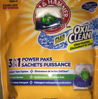 Arm & Hammer™ Plus OxiClean™ 3-IN-1 Power Paks uploaded by Nicole M.