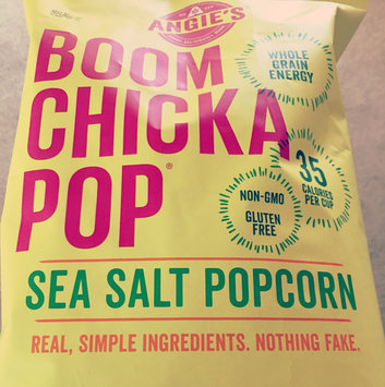 Angie's® Boom Chicka Pop® Sea Salt Popcorn uploaded by Dominica Rose H.