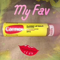 Carmex Original Lip Balm - Spf 15 0.15 oz (4.25 grams) Balm uploaded by Monica B.