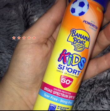 Banana Boat® Clear UltraMist® Kids Free Broad Spectrum SPF 50+ Continuous Spray Sunscreen 6 oz. Aerosol Can uploaded by Shaye K.