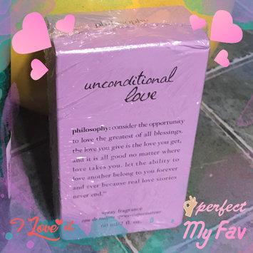 Photo of Philosophy Unconditional Love Spray Fragrance Eau de toilette .5 oz Boxed uploaded by Ana Priscilla C.