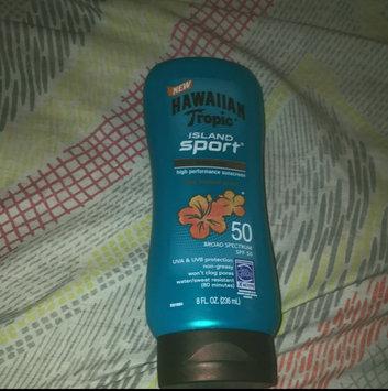 Photo of Hawaiian Tropic Island Sport Lotion Spf 50 8 oz uploaded by Melanie P.