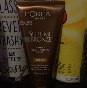 Photo of L'Oréal Sublime Bronze Pearl Tinted Lotion uploaded by Megan C.
