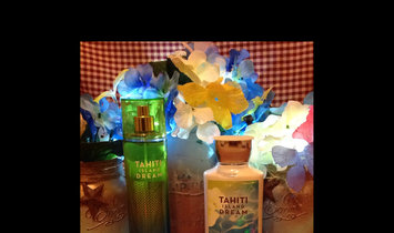 Photo of Bath & Body Works Tahiti Island Dream Body Mist Shower Gel Body Lotion Body Scrub Lg Size Comes with Bag ,Tag and Wrap uploaded by Stacy R.