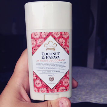 Photo of Nubian Heritage Coconut & Papaya 24 Hour All Natural Deodorant uploaded by Kaitlyn M.