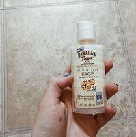 Hawaiian Tropic® Silk Hydration Face Visage SPF 30 Sunscreen uploaded by Hannah M.