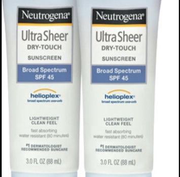 Photo of Neutrogena® Ultra Sheer® Dry-Touch Sunscreen Broad Spectrum SPF 45 uploaded by Mylinda R.