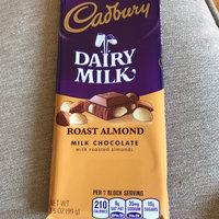 Cadbury Dairy Milk Roast Almond Milk Chocolate Bar uploaded by Sneha T.