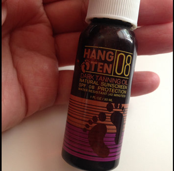 Photo of Hang Ten Dry Tanning Oil Natural Sunscreen SPF8 uploaded by Lilly S.