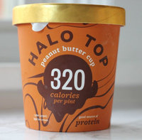Halo Top Peanut Butter Cup Ice Cream uploaded by Madisen C.