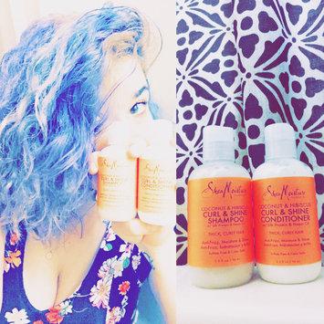SheaMoisture Coconut & Hibiscus Curl & Shine Shampoo uploaded by Angelaina A.
