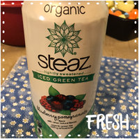 Steaz Iced Green Tea Organic Blueberry Pomegranate uploaded by Stacy S.