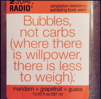Not Soap Radio Not Soap, Radio Bubbles, Not Carbs Exfoliating Scrub 397ml uploaded by Amanda B.