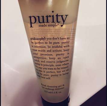 Photo of philosophy Purity Gel Cleanser, 7.5 Ounce uploaded by Katherine V.