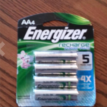 Energizer Recharge AA Batteries uploaded by Laura C.