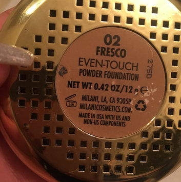 Photo of Milani Even-Touch Powder Foundation uploaded by Mari S.