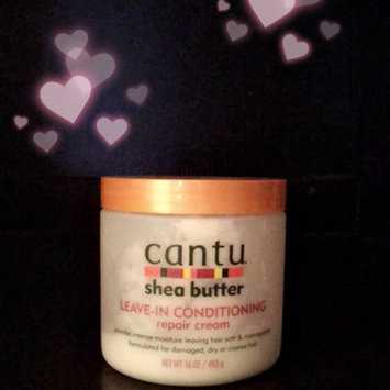 Cantu Shea Butter Leave-In Conditioning Repair Cream uploaded by Indigo S.