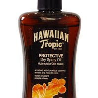 Hawaiian Tropic Protective Dry Oil Sunscreen uploaded by Jessica M.