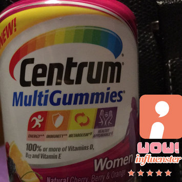 Centrum MultiGummies Women, Cherry, Berry, Orange uploaded by Joi H.