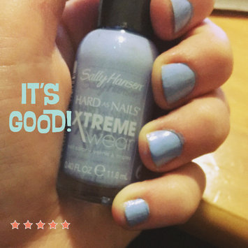 Photo of Sally Hansen Hard As Nails Xtreme Wear .4 oz Nail Color in Babe Blue uploaded by Macayla R.
