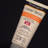 Neutrogena Clear Face Liquid Lotion Sunscreen Broad Spectrum SPF30 uploaded by Chantel R.