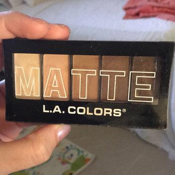 Photo of L.A. Girl L.A. Colors Matte Eyeshadow - Tan Khaki uploaded by Karla C.