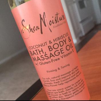 SheaMoisture Cocnut & Hibiscus Bath, Body & Massage Oil uploaded by Ashanti K.