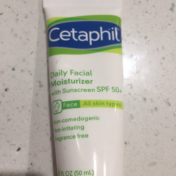 Photo of Cetaphil Daily Facial Moisturizer with SPF 50+ uploaded by maureen C.