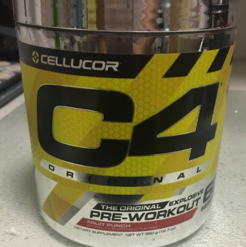 Photo of Cellucor C4 Sport Fruit Punch Pre-Workout Powder - 30 Servings uploaded by Iris S.