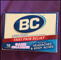 BC Aspirin Pain Relief Powder - 18 ct uploaded by Kiana M.
