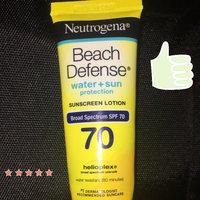 Neutrogena Beach Defense Sunscreen Lotion Broadspectrum SPF 70 uploaded by Jennifer (@alettertoelise_89) G.