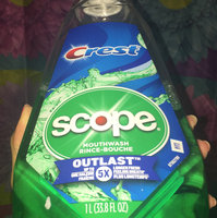 Crest Plus Scope Outlast Mouthwash, Peppermint uploaded by Milpa M.