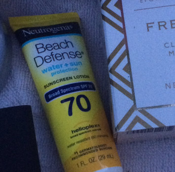 Photo of Neutrogena Beach Defense Broad Spectrum Sunscreen Lotion uploaded by Lesa C.