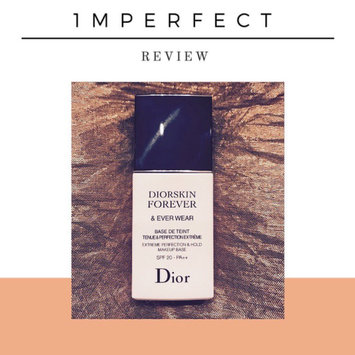 Dior 'Diorskin Forever & Ever Wear' Extreme Perfection & Hold Makeup Base SPF 20 uploaded by Rana A.