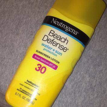 Photo of Neutrogena Beach Defense Broad Spectrum Sunscreen Lotion uploaded by Kara F.