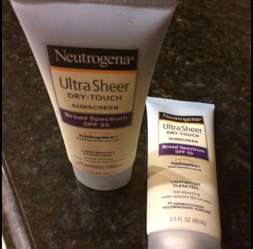 Photo of Neutrogena® Ultra Sheer® Dry-Touch Sunscreen Broad Spectrum SPF 45 uploaded by Paula S.