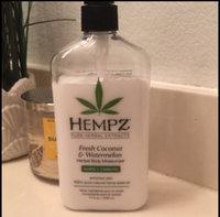 Supre Hempz Herbal Body Moisturizer Fresh Coconut & Watermelon 17oz uploaded by Monica I.