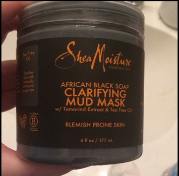 SheaMoisture African Black Soap Clarifying Mud Mask uploaded by Ciarra P.