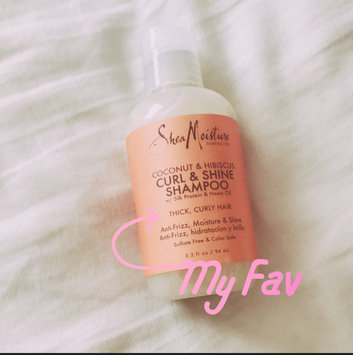 Photo of SheaMoisture Coconut & Hibiscus Curl & Shine Shampoo uploaded by Kendra T.