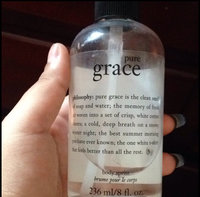 philosophy pure grace all over body spritz uploaded by Arianna R.