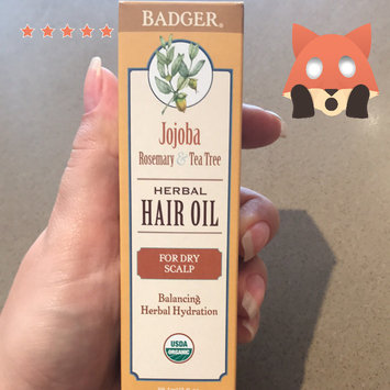 Photo of Badger Balm Jojoba Hair Oil for Dry Scalp uploaded by Julia S.