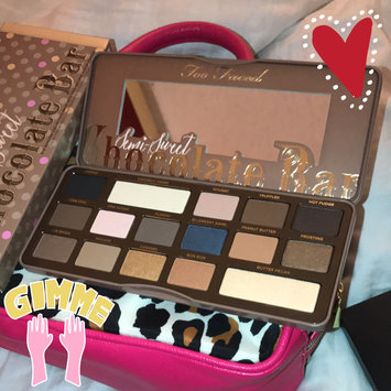 Too Faced Semi Sweet Chocolate Bar uploaded by Kristel H.