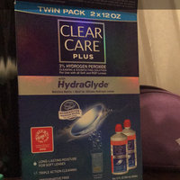 Clear Care Plus HydraGlyde Cleaning and Disinfecting Solution, 2 pk, 24 fl oz uploaded by Liana N.