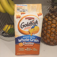 Goldfish® Cheddar Baked Snack Crackers Made With Whole Grain uploaded by Scarlet B.