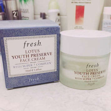 Photo of fresh Lotus Youth Preserve Face Cream uploaded by Ruth K.