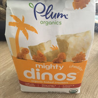 Plum® Organics Cheddar Mighty Dinos™ Organic Baked Crackers 6.8 oz. Stand Up Bag uploaded by Andréa G.