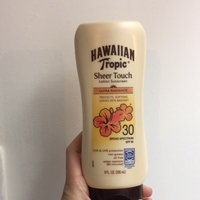 Hawaiian Tropic Sheer Touch SPF 30 Lotion Sunscreen uploaded by Zee T.