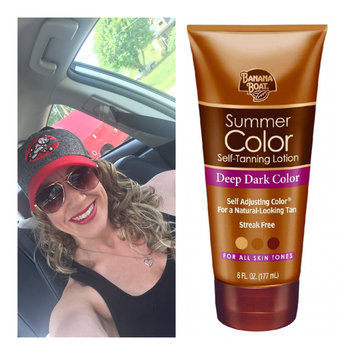 Photo of Banana Boat Summer Color Self-Tanning Lotion uploaded by Maggie E.