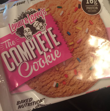 Photo of Lenny & Larry's Complete Cookie - 1 Cookie Birthday Cake uploaded by Joanie C.
